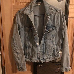 H&M jean jacket - size 12